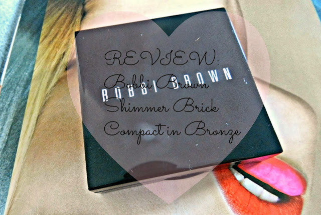 Bobbi Brown Shimmer Brick Compact in Bronze