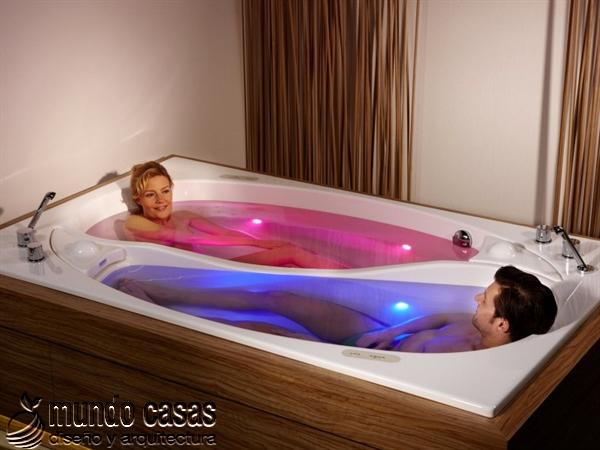 Baño De Tina Natural:En Decora-Hogar podrás ver fotos de baños con tinas muy lujosas, que