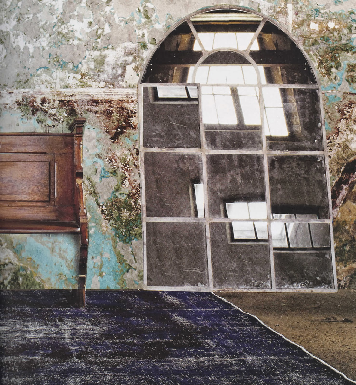 tapis bleu marine. Black Bedroom Furniture Sets. Home Design Ideas
