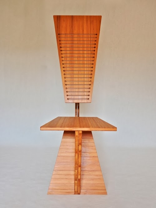 04-Suspension-Bamboo-Desk-Chair-2-Robby-Cuthbert-Sculptures-Cable-Tension-Furniture-www-designstack-co