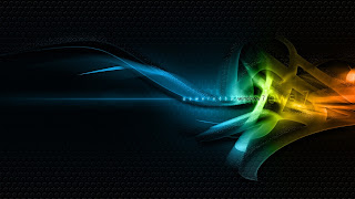 Colorful Windows Seven wallpaper