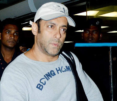 Salman Khan spotted at the airport returning from medical checkup