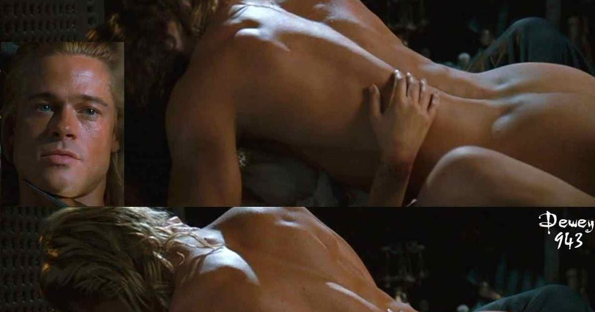 Brad Pitt frei nackt