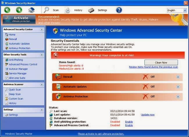 Windows Security Master