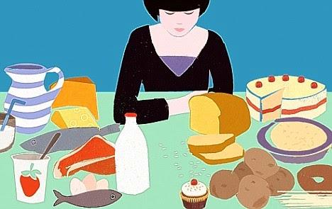 Gambar Makan Sarapan Pagi Roti Susu Cewek Cantik Kartun