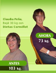 bajar 30 kilos 103 kilos 73 kilos dieta de cormillot antes y despues fotos