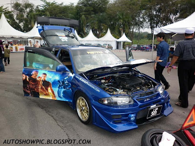 Modified Wira DAMD bodykit