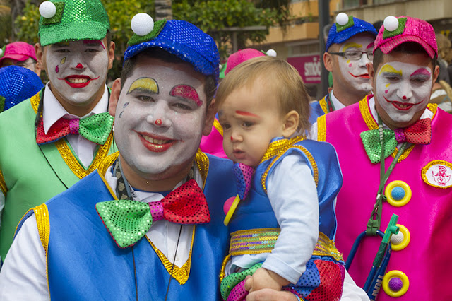 Fun for everyone at the Carnvaval al Sol in Las Palmas Gran Canaria