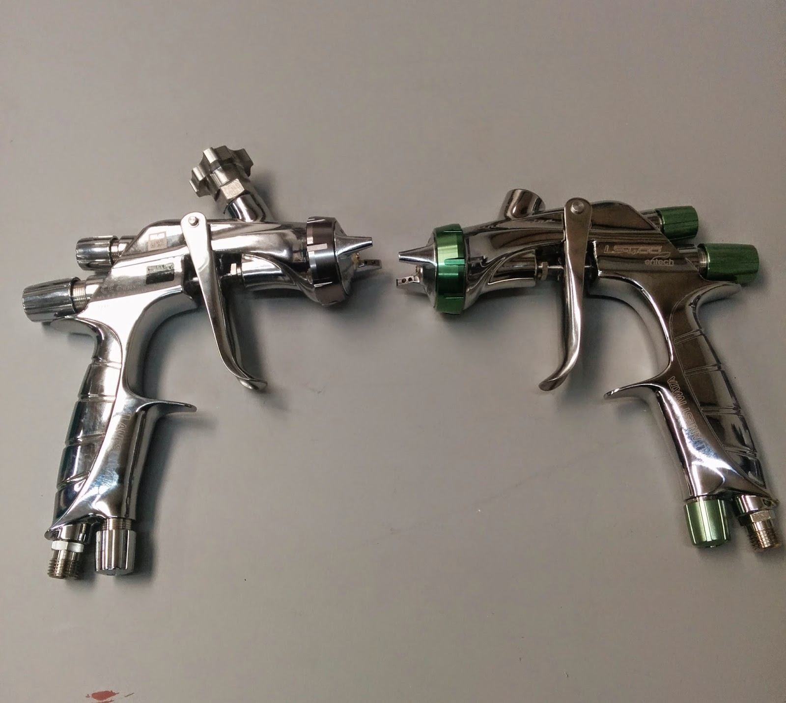 how to clean dried paint from spray gun