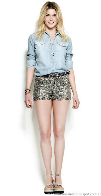 Ropa de mujer camisas de jeans Kosiuko.