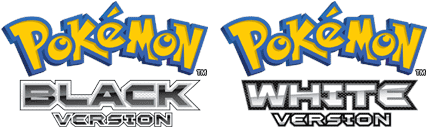 blackwhite logo Pokemon Black & White (DS)(ESPAÑOL)