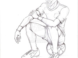 Messi Playing Soccer Coloring Pages