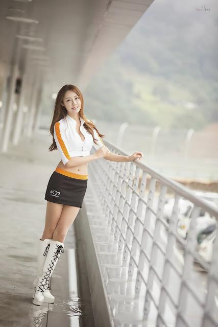 2 Eun Bin - CJ Super Race 2013 R6 - very cute asian girl-girlcute4u.blogspot.com