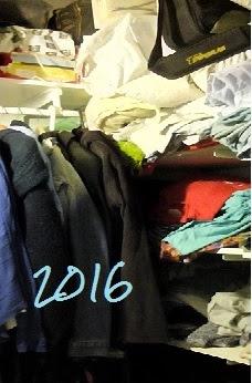 16+1 organización armario donar, reciclar, reutilizar