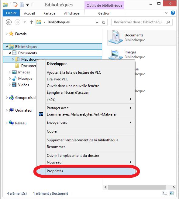 Informatique Beaujolaise: Windows 7, 8.1, 10: Du00e9placer Mes Documents.