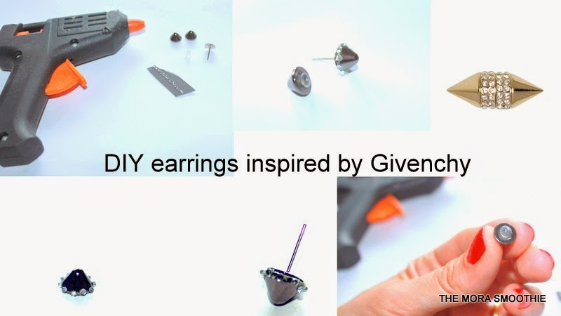 DIY, diyblog, diyblogger, fashion diy, givenchy, tutorial, tutorial earrings, earrings, diy earrings, diy givenchy, fashion, fashionblog, fashionblogger, themorasmoothie, blogger, italianblogger
