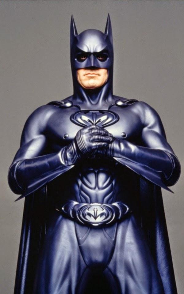 Batman y robin, traje batman clooney y sus pezones 1997