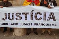 Pancarta de la Mesa de Catalunya d'Entitats Memorialistes