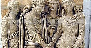 Matrimonio Romano Iustae Nuptiae : Derecho y teoría: matrimonio civil romano