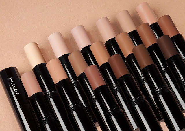 a photo of Inglot Stick Foundations