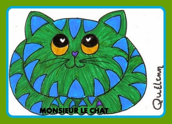 dessin de chat, Théophile Gautier, âme
