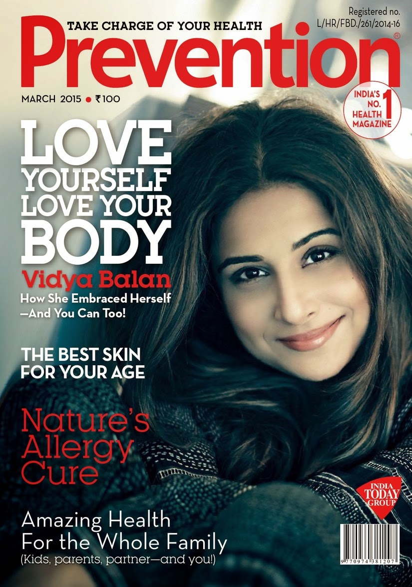 Actress @ Vidya Balan - Prevention India, March 2015