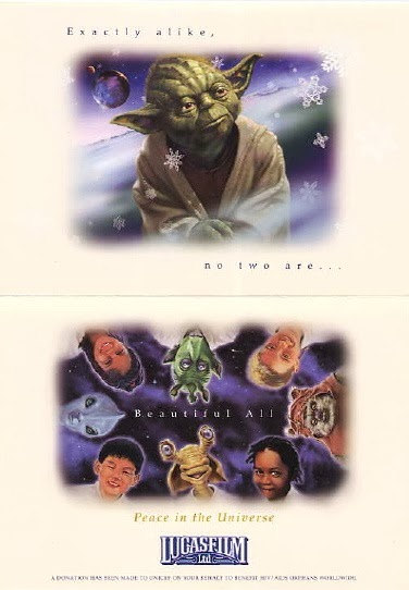 2002 Lucasfilm Christmas Card
