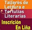 Inscrición en liña Tertulias Literarias