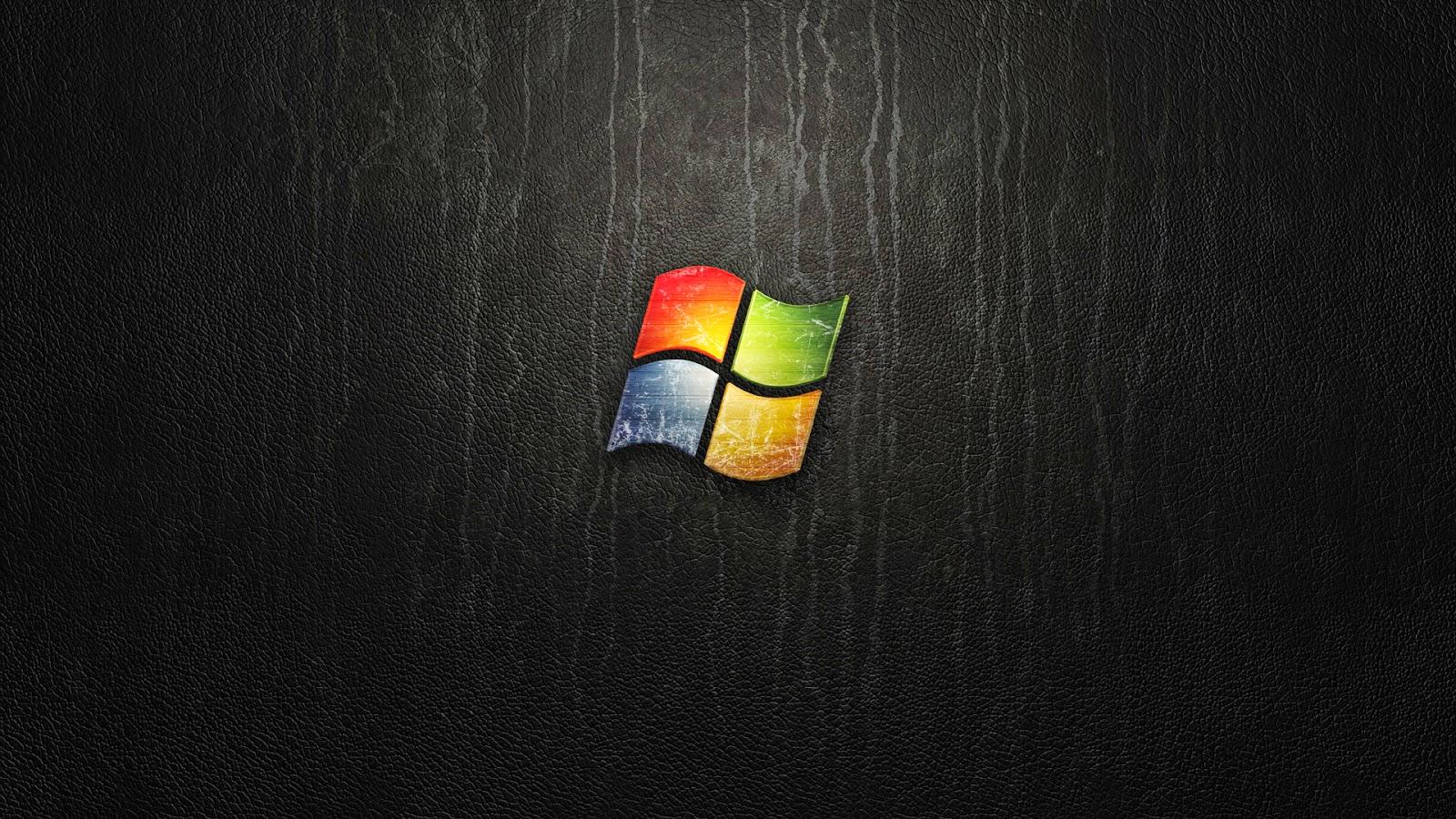 Full Hd Desktop Wallpapers Dark Windows Logo Wallpaper