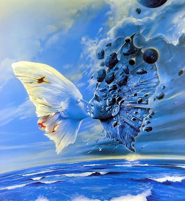 Butterfly kiss -- Wojtek Siudmak: Idylle -- Sommerfuglekys
