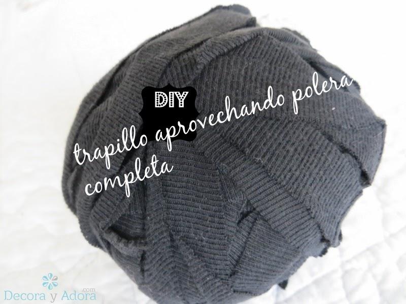 DIY como hacer trapillo