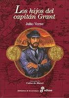 Portada del libro los hijos del capitán grant para descargar epub y pdf