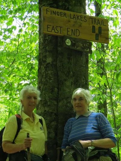 Finger Lakes Trail eastern terminus