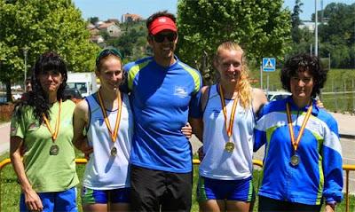 Piragüismo Aranjuez en Campeonato de España de Maratón en Pontevedra