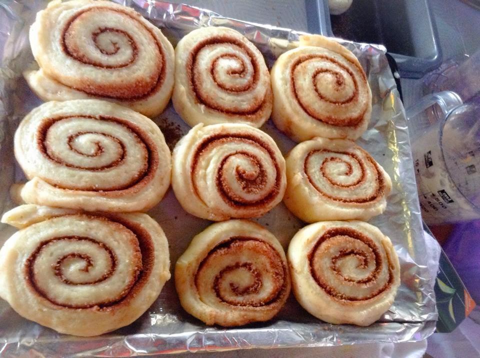 cinnamon roll yang mudah
