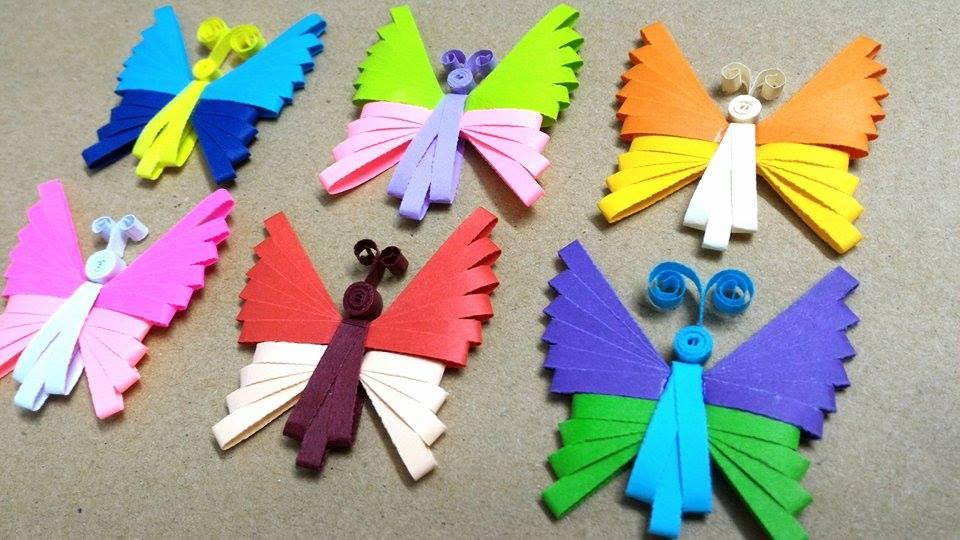 Поделки бабочек своими руками 35