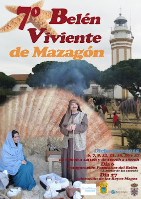 BELÉN VIVIENTE DE MAZAGÓN 2015 - HUELVA
