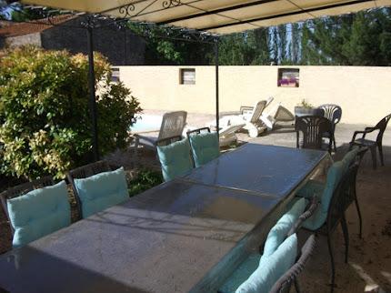 Villa romarin - Coin repas