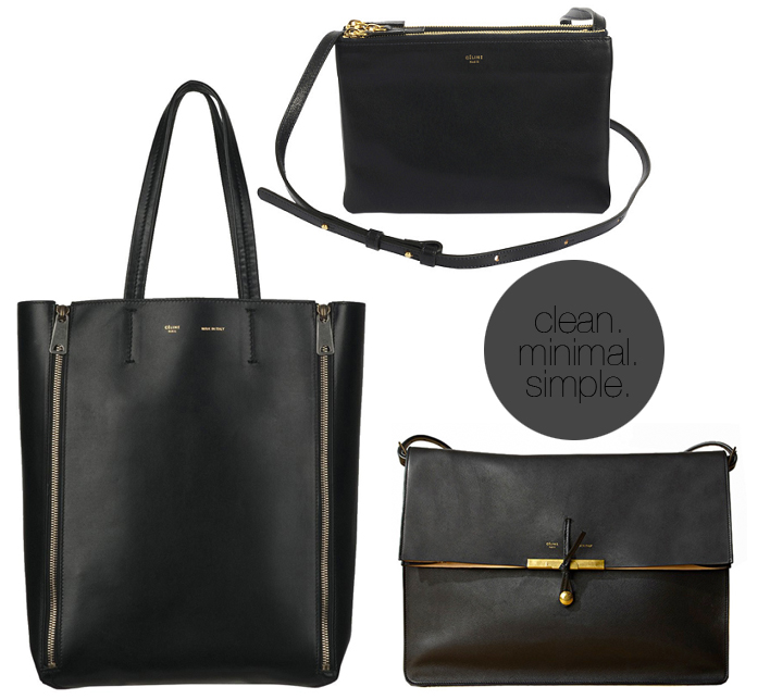 celine tote with zipper