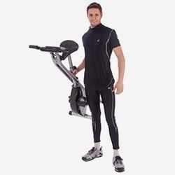 Ultrasport F-Bike bicicleta estática con empuñaduras con sensores de pulso, plegable - Características Weitere