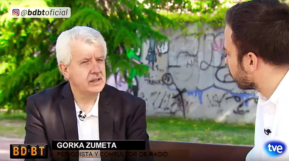 GORKA ZUMETA EN BD.BT (TVE INTERNACIONAL)