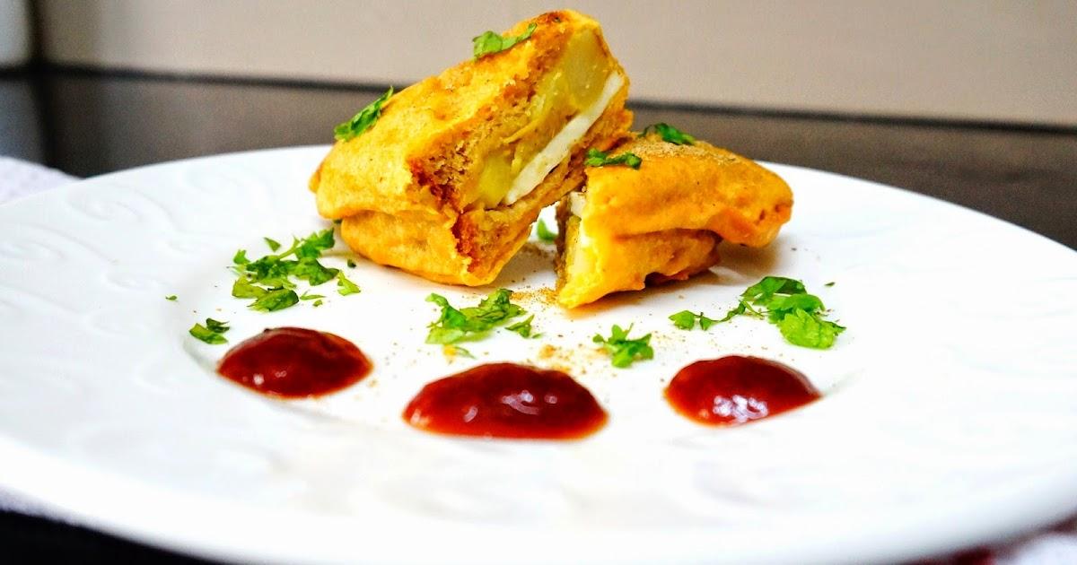 Scrumptious Indian Recipes: How to make Bread Pakora