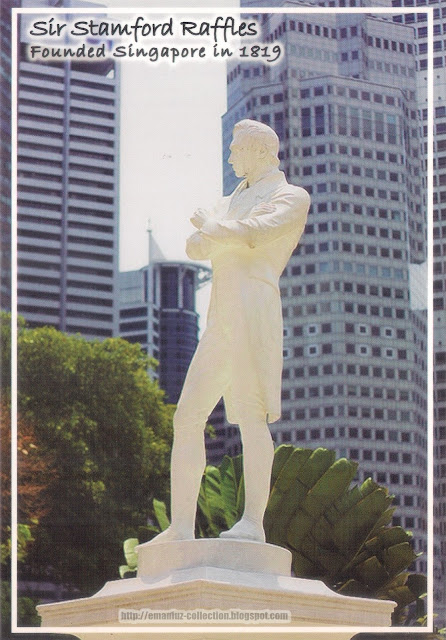 Sir Stamford Raffles Founded Singapore in 1819
