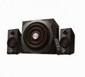 Snapdeal: Buy F&D A530 U Multimedia Speakers 2.1 Black at Rs.2294