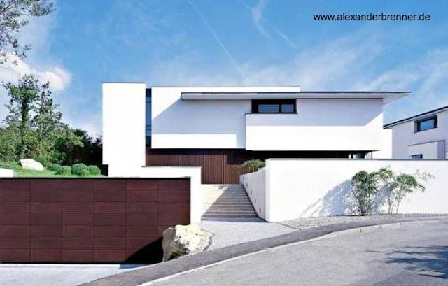 Casa residencial de estilo Contemporáneo en Alemania