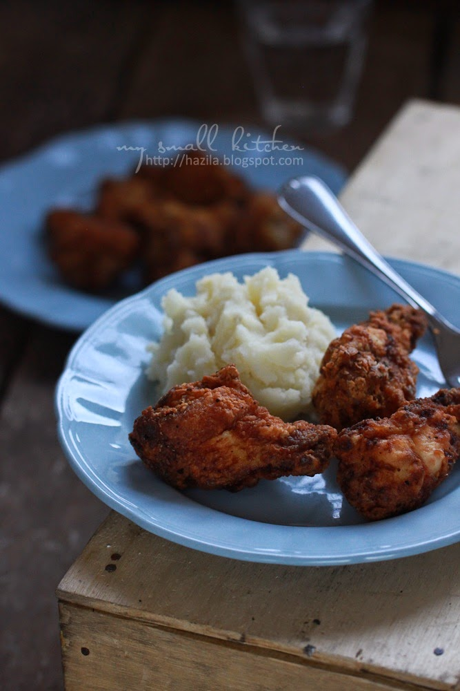 Basic Buttermilk Fried Chicken Recipe — Dishmaps