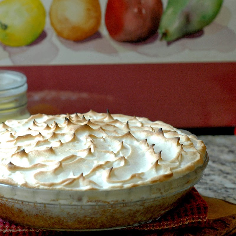 ... in the Kitchen: Lemon Meringue Ice Cream Pie in a Toasted Pecan Crust