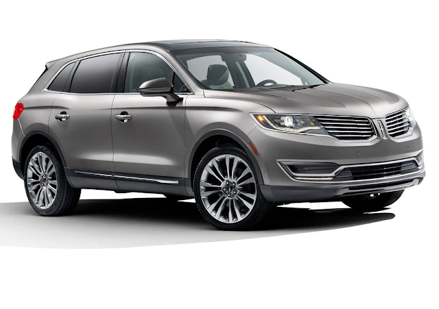 2016 Lincoln MKX grey