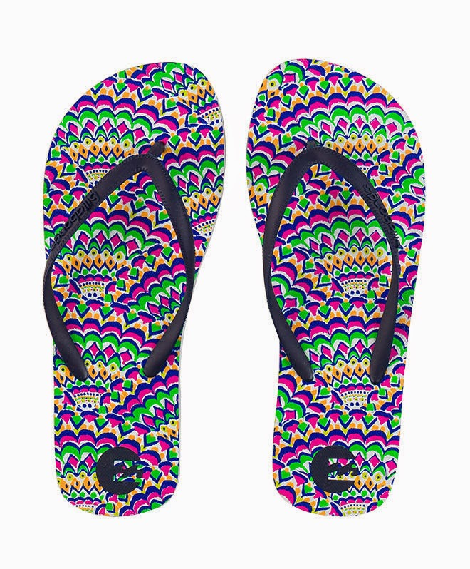 95425fae671 ... range of ladies flip-flops in an eye dazzling array of colours and  styles.Hot foot it down to Billabong and be ready for the heat this Summer.  Like our ...