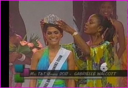 Gabrielle Walcott is the winner of Miss Trinidad and Tobago Universe 2011 - She will represent Trinidad and Tobago in Miss Universe 2011 pageant